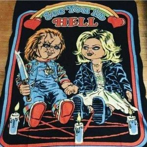 Other - Bride of chucky fleece blanket
